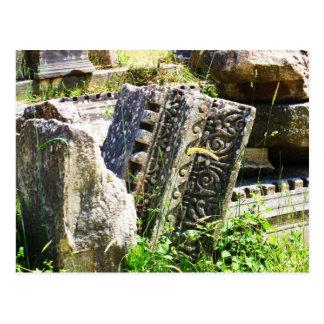 Ruinas antiguas en Ephesus Tarjetas Postales