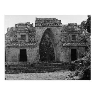 Ruinas antiguas: Entrada a Labna, Yucatán, México Postales