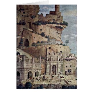 Ruinas arquitectónicas de Andrea Mantegna Felicitaciones
