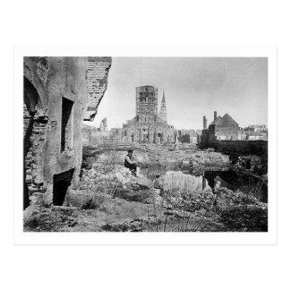 Ruinas de Charleston Carolina del Sur 1865 Postal