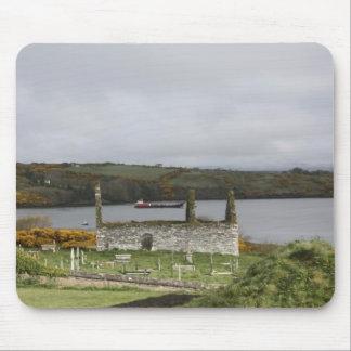 Ruinas de Irlanda Mouse Pad
