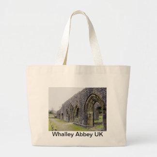 Ruinas de la abadía bolsas lienzo