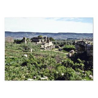 Ruinas de la ciudad del griego clásico de Miletus Comunicado