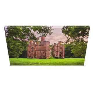 Ruinas de la plantación de Rosewell Lona Envuelta Para Galerias