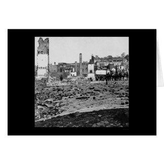 Ruinas de los argumentos del arsenal en Richmond Tarjeta De Felicitación