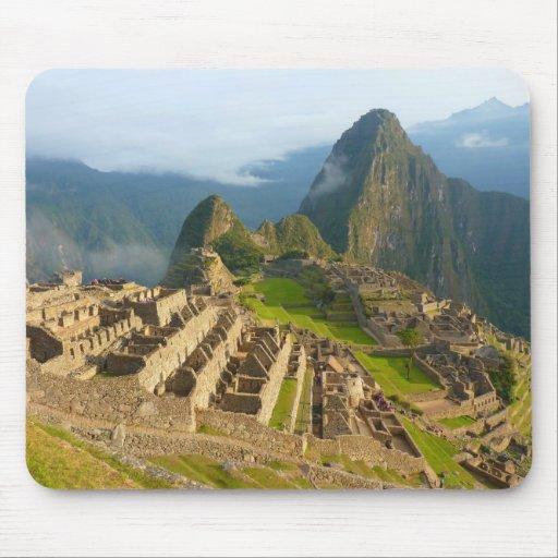 Ruinas de Machu Picchu Alfombrillas De Ratones