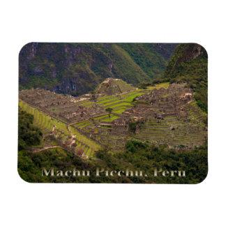 Ruinas de Machu Picchu, Perú Iman Rectangular