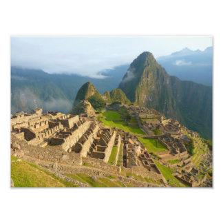 Ruinas de Machu Picchu Arte Fotográfico