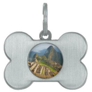 Ruinas de Machu Picchu Placas Mascota