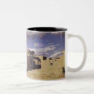 Ruinas de Navajo Taza De Café De Dos Colores