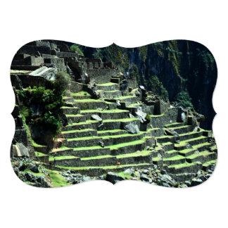 """Ruinas de Perú Invitación 5"""" X 7"""""""