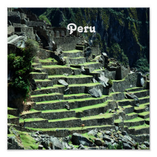 Ruinas de Perú Poster