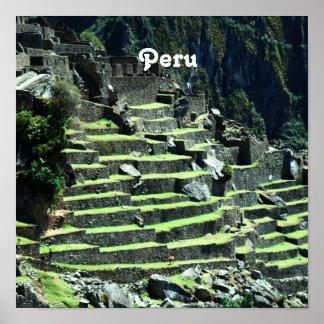 Ruinas de Perú Póster
