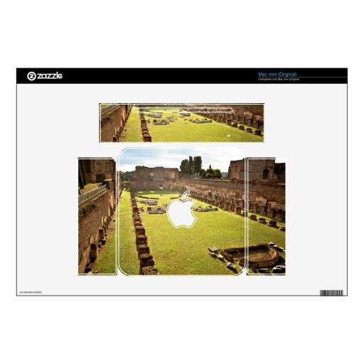 Ruinas de Roma Calcomanía Para Mac Mini