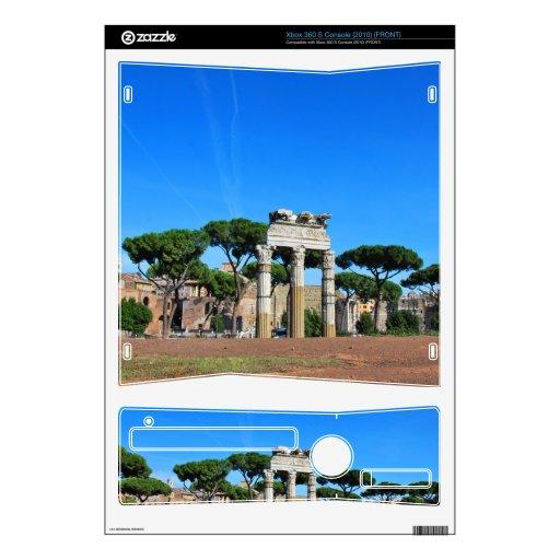 Ruinas de Roma Calcomanía Para Xbox 360 S