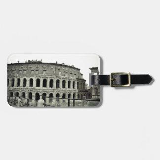 Ruinas de Roma Etiqueta De Maleta