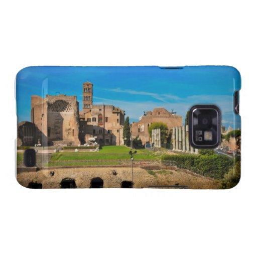 Ruinas de Roma Galaxy SII Carcasa