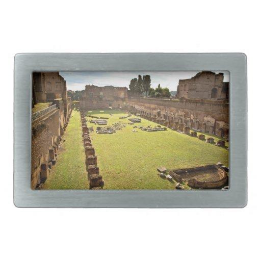 Ruinas de Roma Hebillas De Cinturon