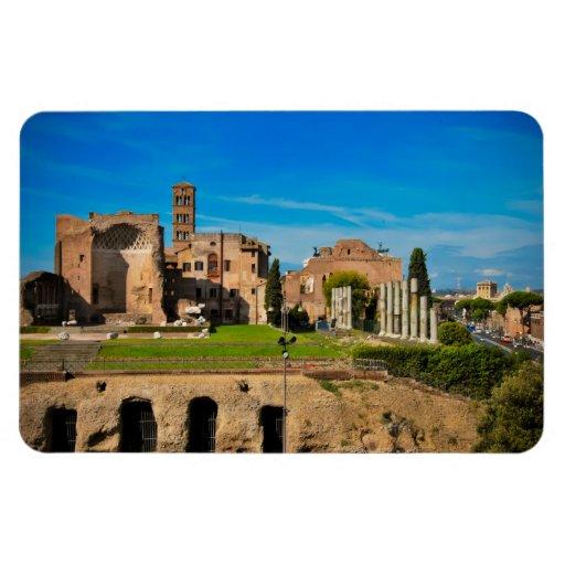 Ruinas de Roma Imán Flexible
