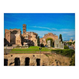 """Ruinas de Roma Invitación 6.5"""" X 8.75"""""""