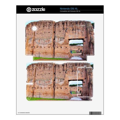Ruinas de Roma Nintendo DSi XL Skins