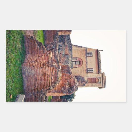 Ruinas de Roma Rectangular Altavoces