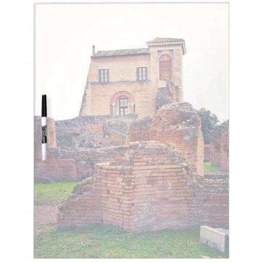 Ruinas de Roma Tablero Blanco