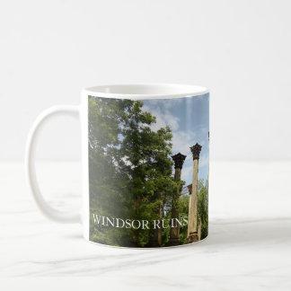Ruinas de Windsor Mississippi Taza De Café