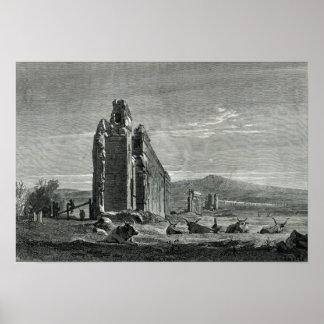 Ruinas del acueducto de Appius Claudius, Roma Póster