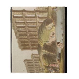 Ruinas del acueducto magnífico de Cartago antiguo,
