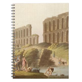 Ruinas del acueducto magnífico de Cartago antiguo, Notebook