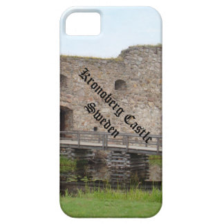 Ruinas del castillo de Kronoberg - Suecia iPhone 5 Carcasas
