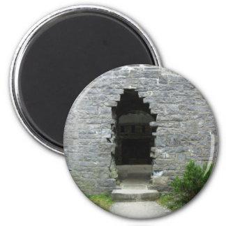 Ruinas del castillo iman de nevera