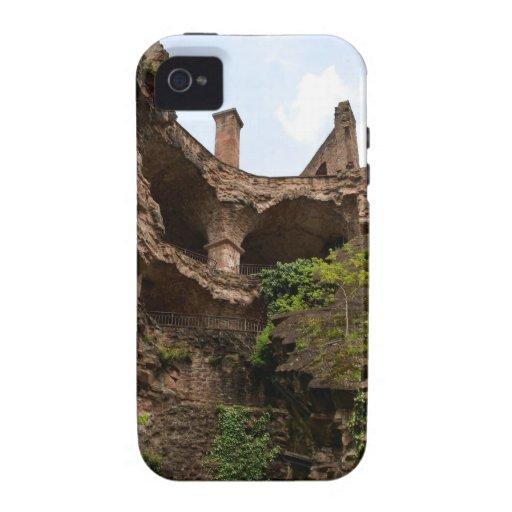 Ruinas del castillo iPhone 4 funda