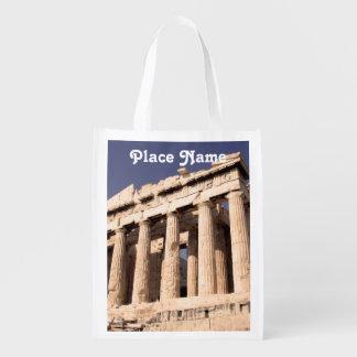 Ruinas del Griego Bolsa Para La Compra