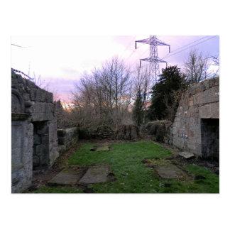 Ruinas del oeste de Kirk: Kirk negro del Outlander Tarjetas Postales