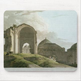 Ruinas del palacio en Madurai Tapete De Raton