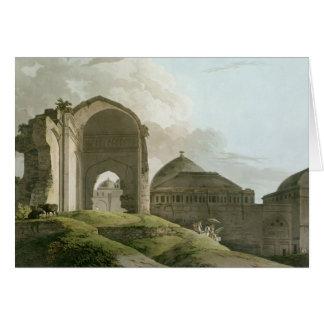 Ruinas del palacio en Madurai Tarjeta De Felicitación