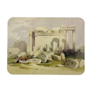 Ruinas del pórtico del este del templo del Baal Imanes Flexibles