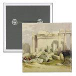 Ruinas del pórtico del este del templo del Baal Pin Cuadrado