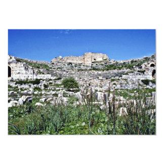 Ruinas del teatro del griego clásico de Miletus - Invitación Personalizada