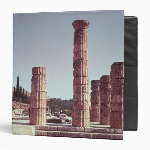 Ruinas del templo de Apolo