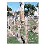 Ruinas del templo del echador y de Pólux, Italia Postal