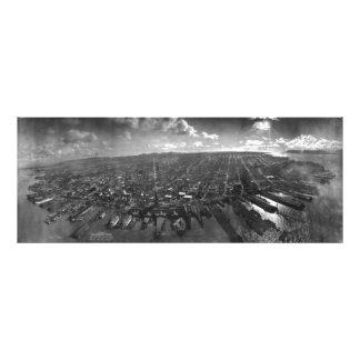 Ruinas del terremoto de San Francisco del panorama Cojinete