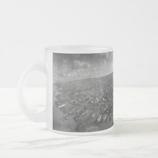 Ruinas del terremoto de San Francisco del panorama Taza De Café