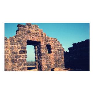 Ruinas en el fuerte Goa la India de Aguada Arte Fotografico