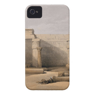 Ruinas en Medinet Abou, Thebes, Egipto Funda Para iPhone 4 De Case-Mate