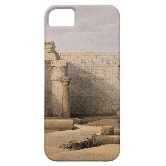 Ruinas en Medinet Abou, Thebes, Egipto Funda Para iPhone SE/5/5s