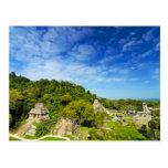 Ruinas en Palenque, México Tarjetas Postales