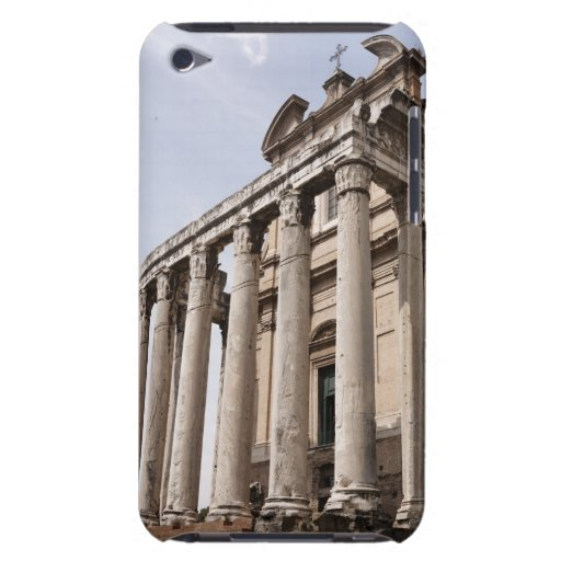 Ruinas en Roma, Italia 2 iPod Case-Mate Protectores
